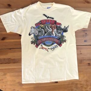 Vintage San Diego Zoo Endangered Species T Shirt
